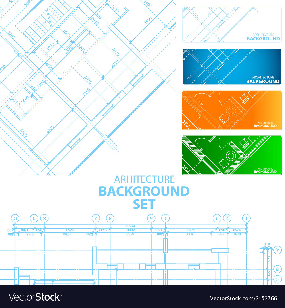 Architecture backgrounds vector | Price: 1 Credit (USD $1)