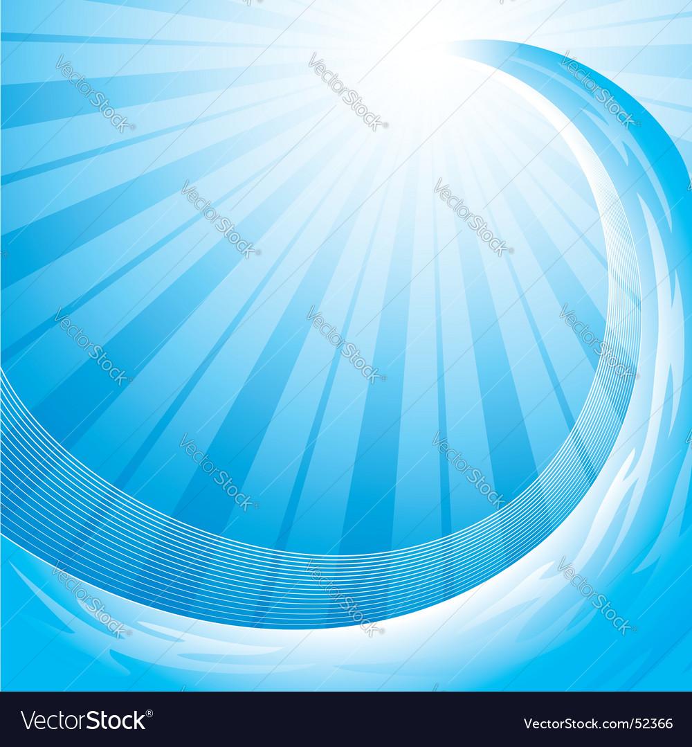 Ocean wave background vector | Price: 1 Credit (USD $1)