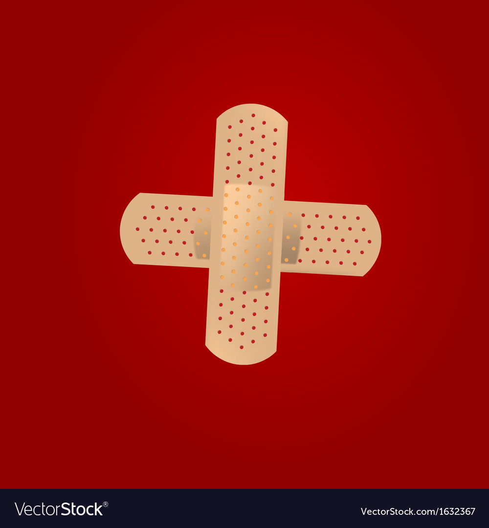 Adhesive bandages vector | Price: 1 Credit (USD $1)
