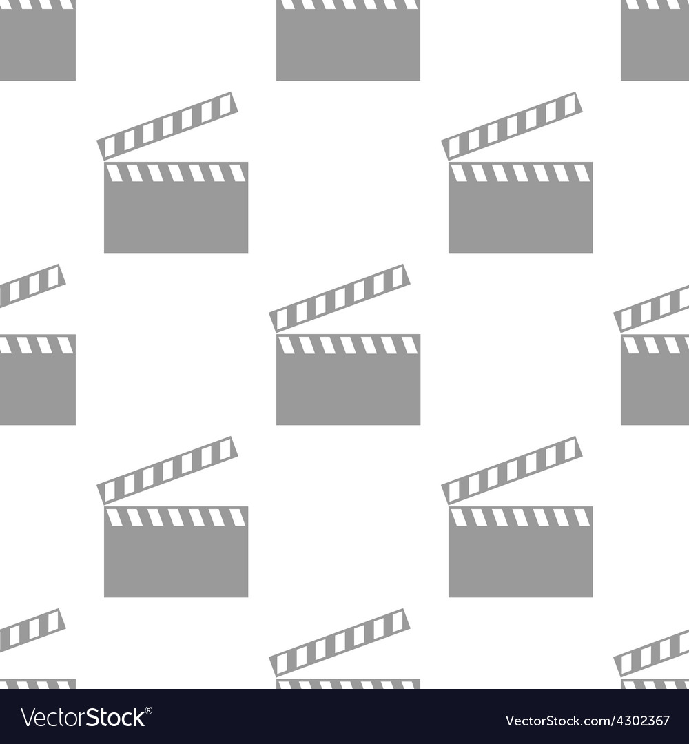 New film seamless pattern vector | Price: 1 Credit (USD $1)