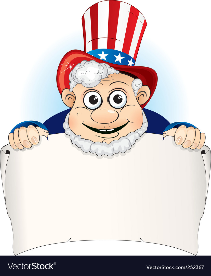 Uncle sam vector | Price: 3 Credit (USD $3)