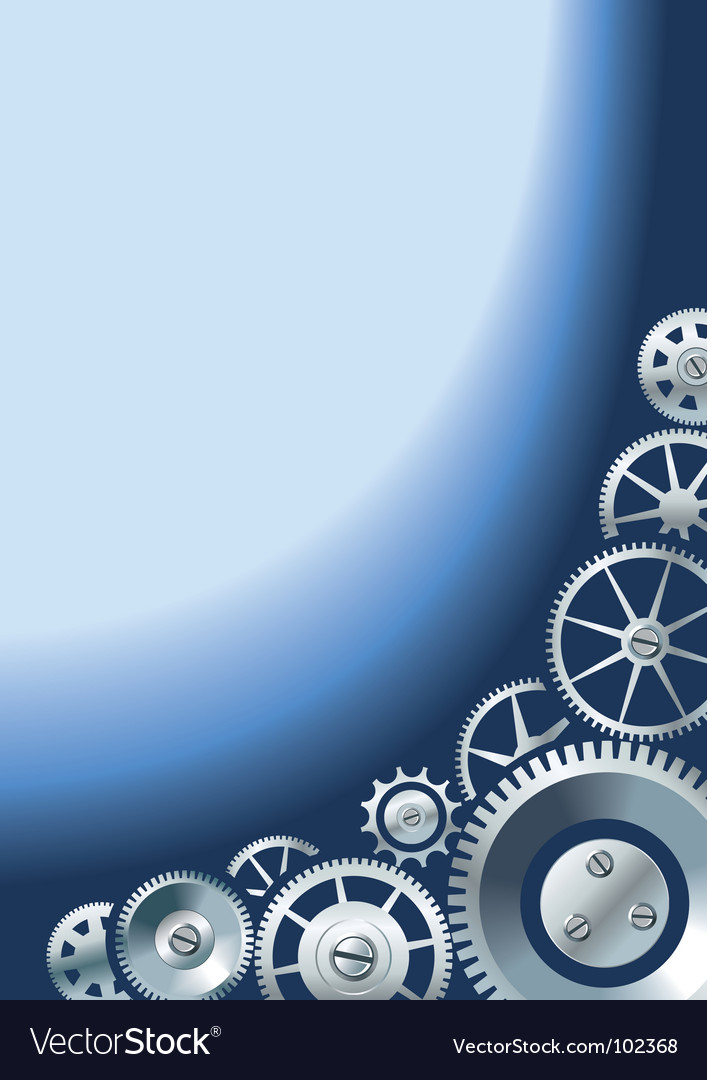 Mechanical background with gears vector | Price: 1 Credit (USD $1)