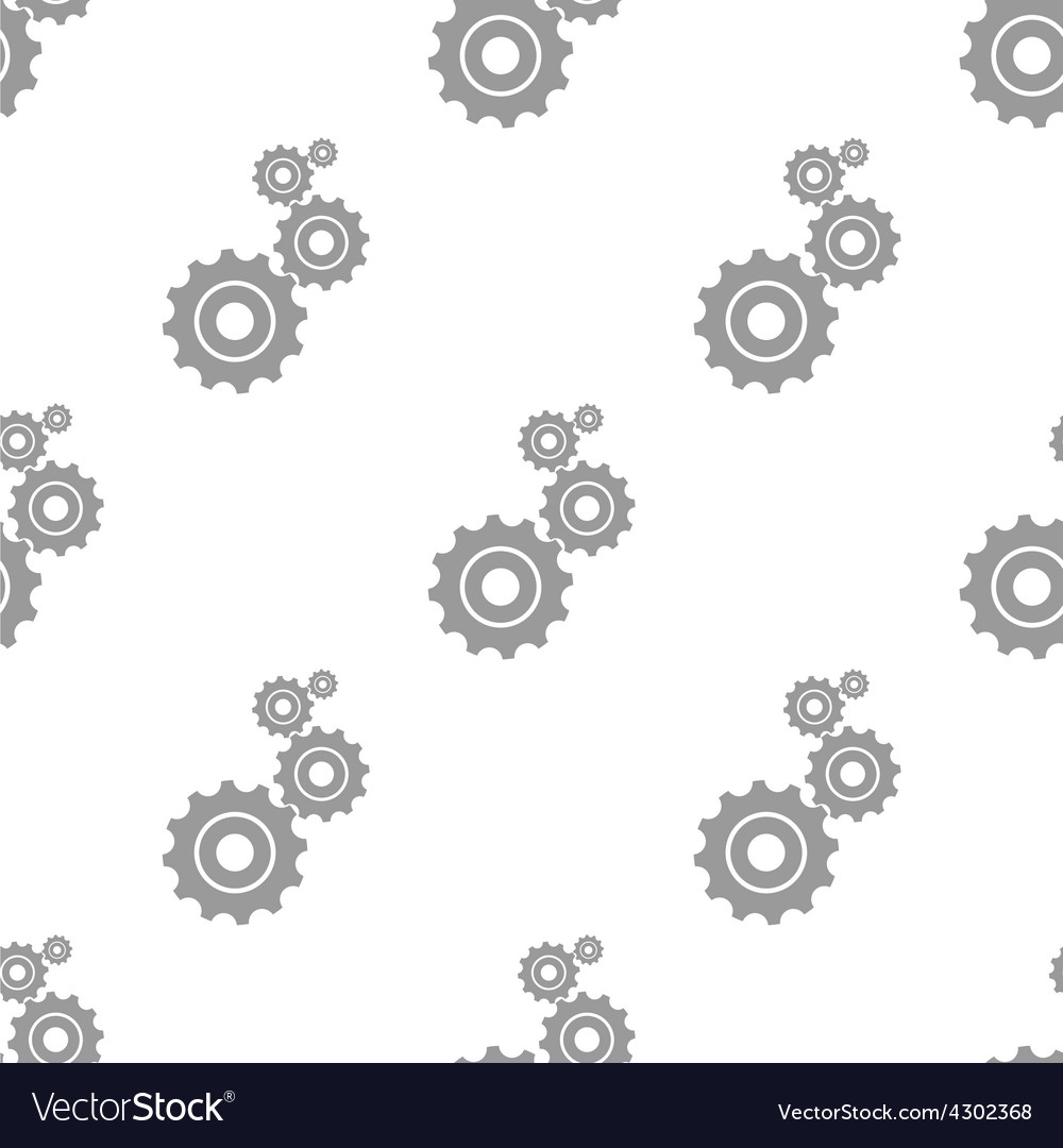 New mechanism seamless pattern vector | Price: 1 Credit (USD $1)