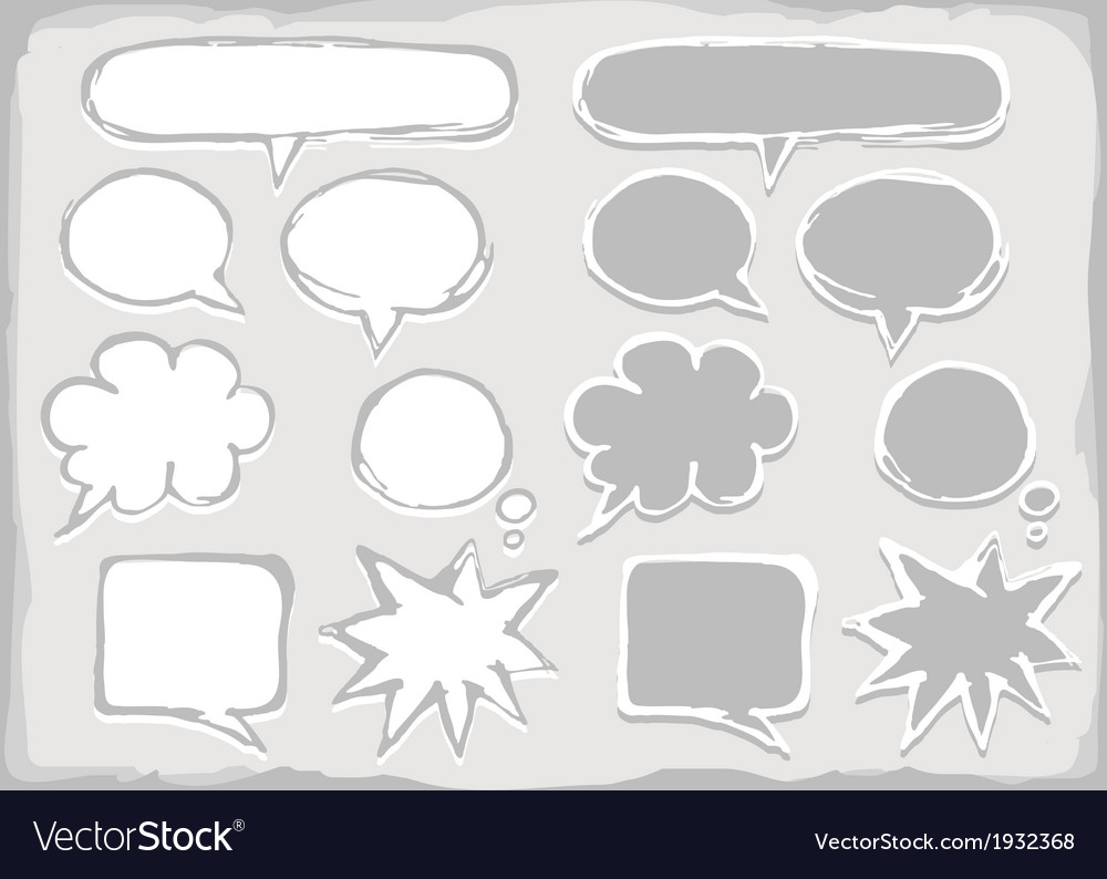 Set of bubbles vector | Price: 1 Credit (USD $1)