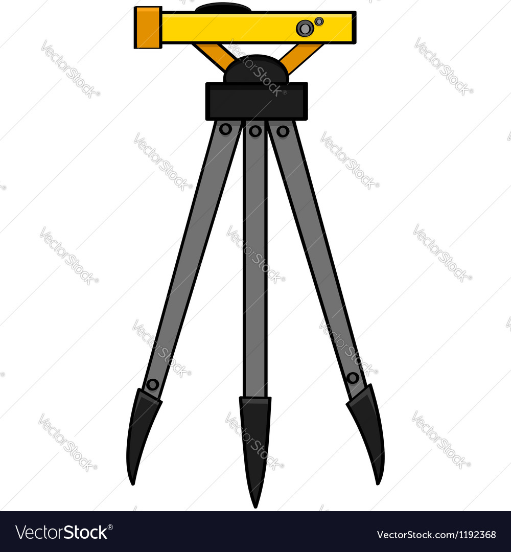 Surveying tool vector | Price: 1 Credit (USD $1)