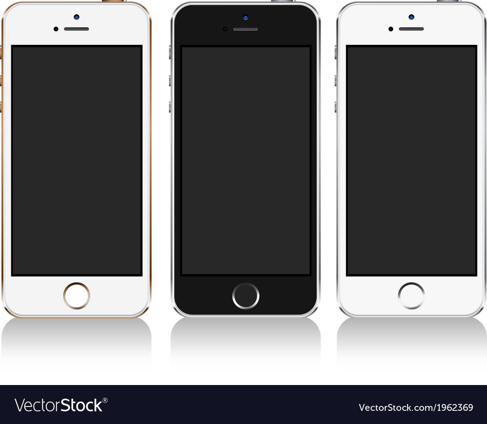 Iphone 5s vector | Price: 1 Credit (USD $1)
