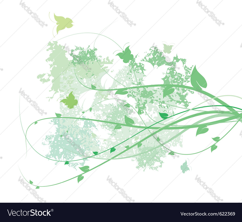Spring abstract vector | Price: 1 Credit (USD $1)