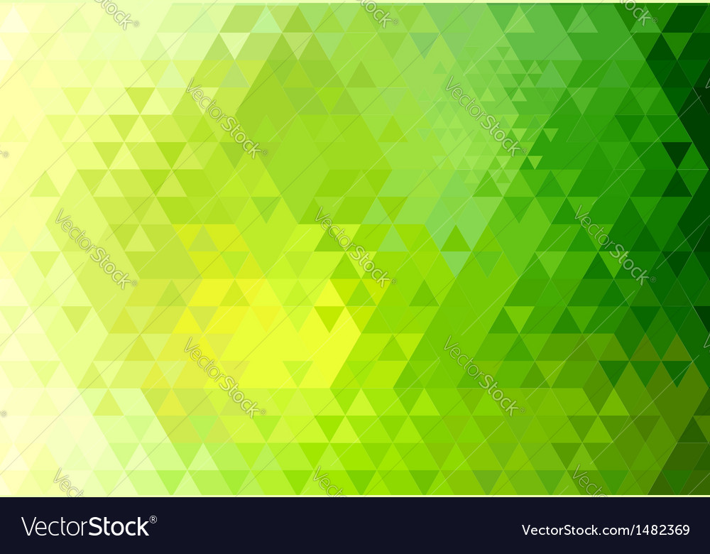 Triangle retro background vector | Price: 1 Credit (USD $1)