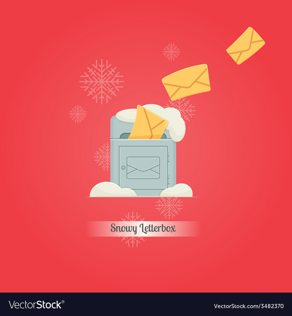Letterbox and letters vector | Price: 1 Credit (USD $1)