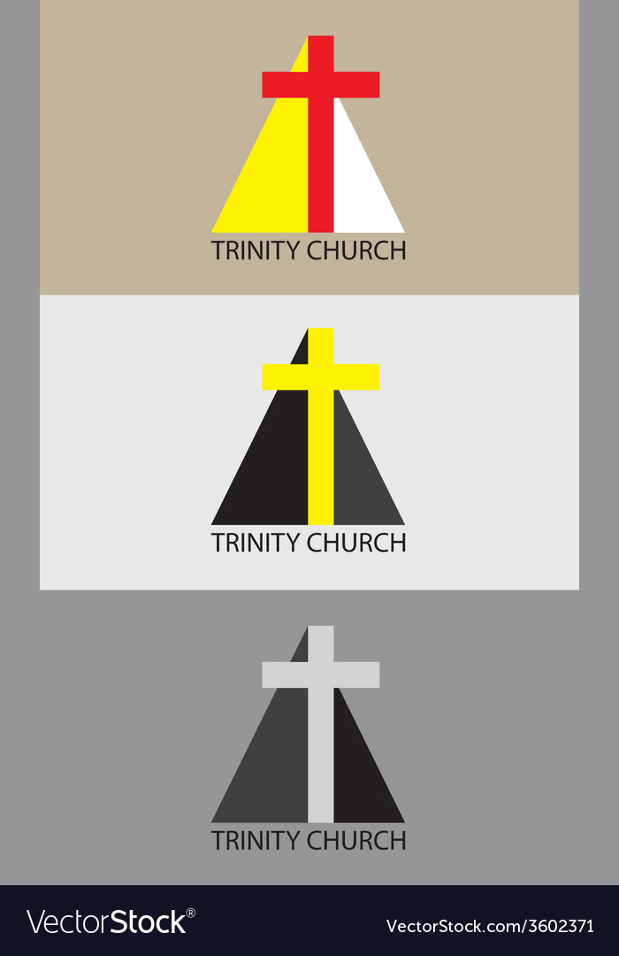 Trinity church icon vector | Price: 1 Credit (USD $1)