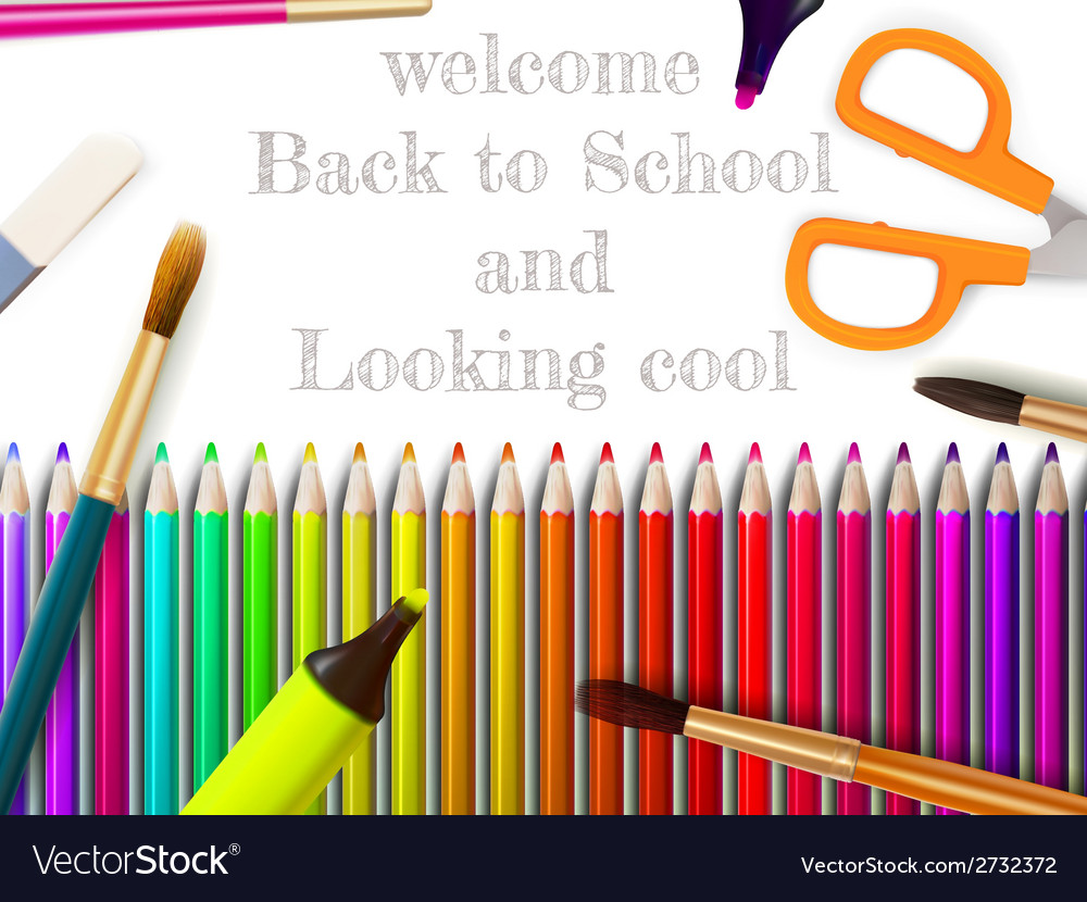 Modern school background with copyspace eps10 vector | Price: 1 Credit (USD $1)