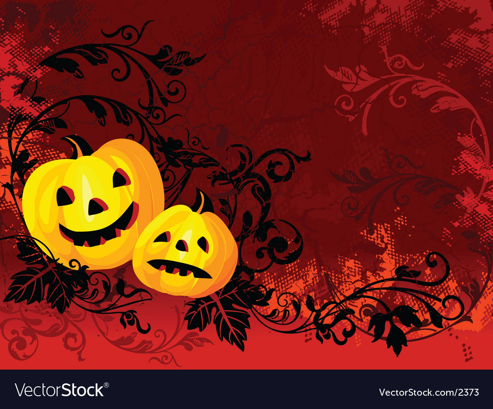 Burning halloween vector | Price: 1 Credit (USD $1)