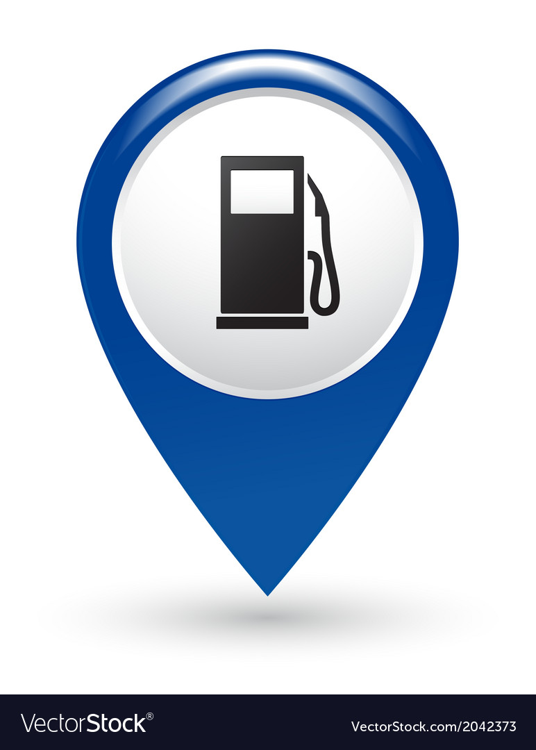 Gas station pointer vector | Price: 1 Credit (USD $1)