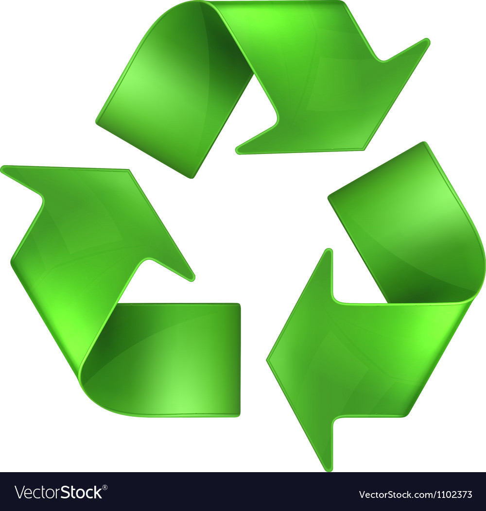 Recycling vector | Price: 1 Credit (USD $1)