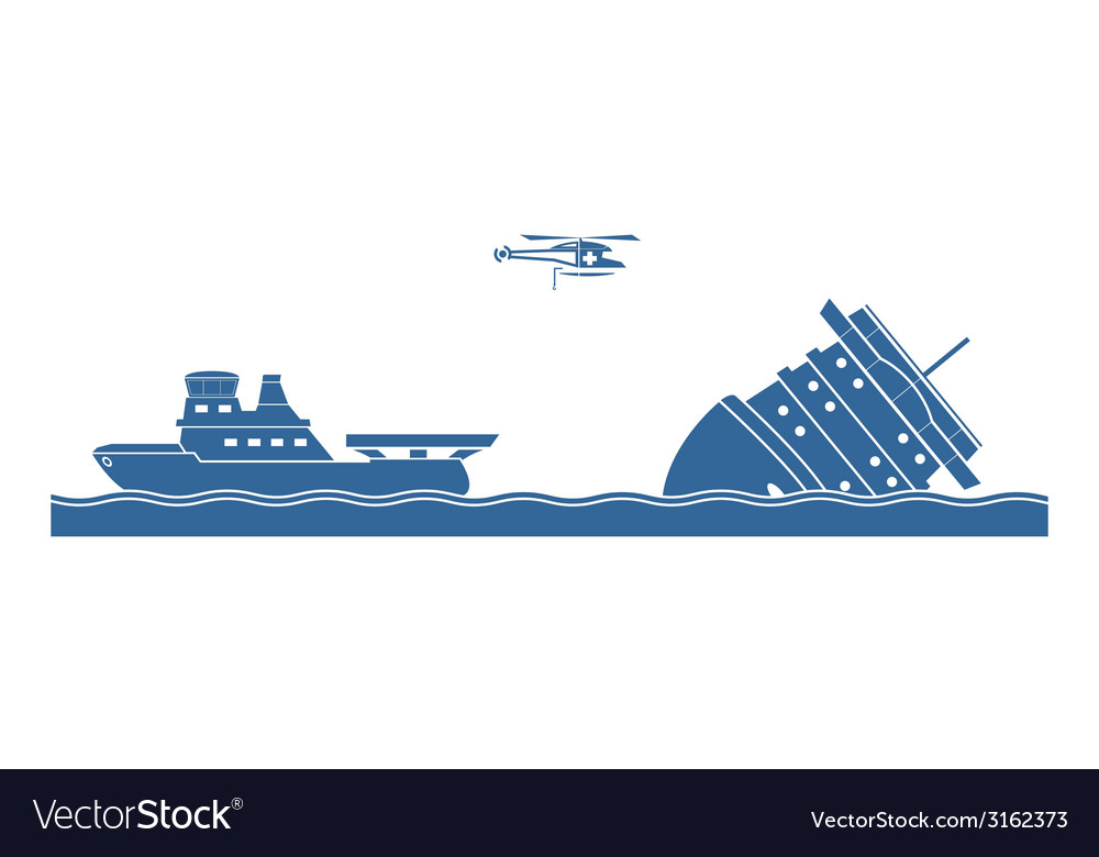 Salvage operation vector | Price: 1 Credit (USD $1)