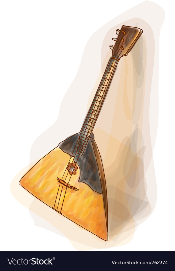 Balalaika vector | Price: 1 Credit (USD $1)
