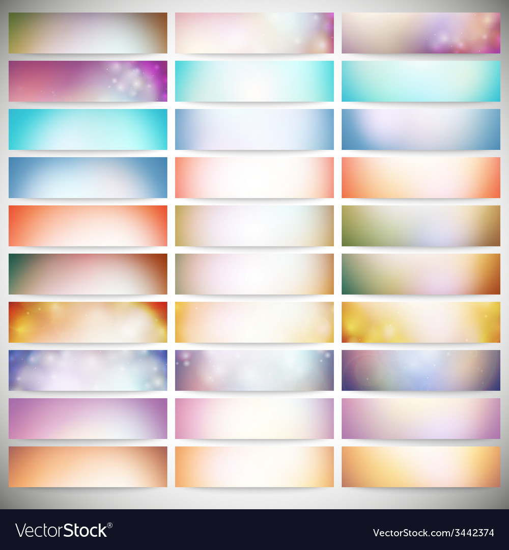 Big abstract colored backgrounds set modern vector   Price: 1 Credit (USD $1)