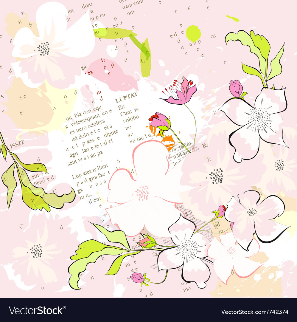 Colorful spring background vector   Price: 1 Credit (USD $1)