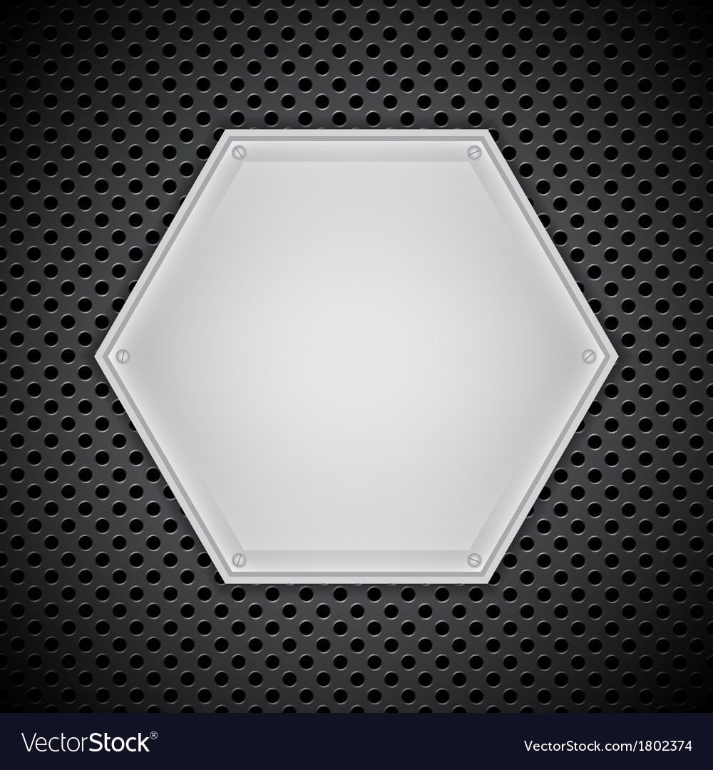Metal circular grid vector | Price: 1 Credit (USD $1)