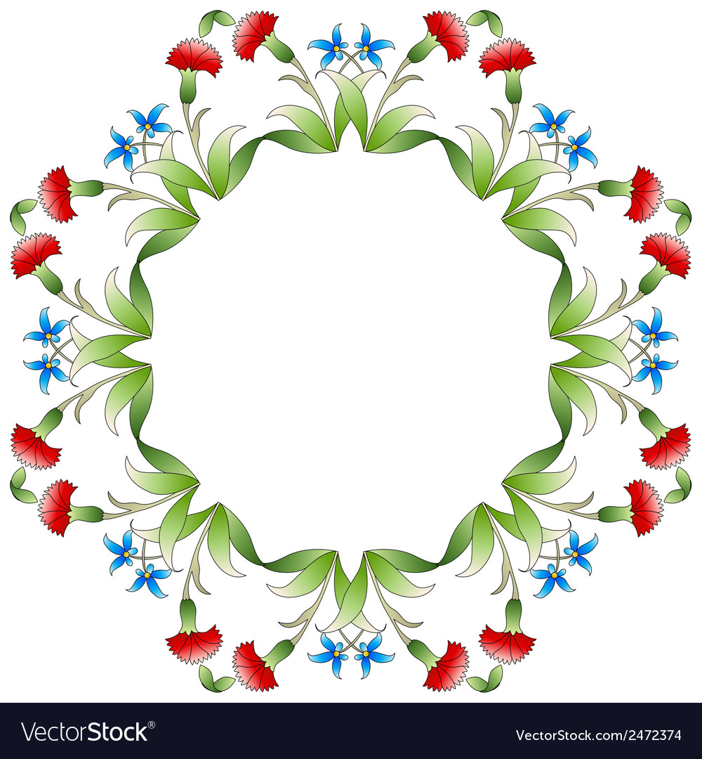 Ottoman art flowers twenty three vector | Price: 1 Credit (USD $1)