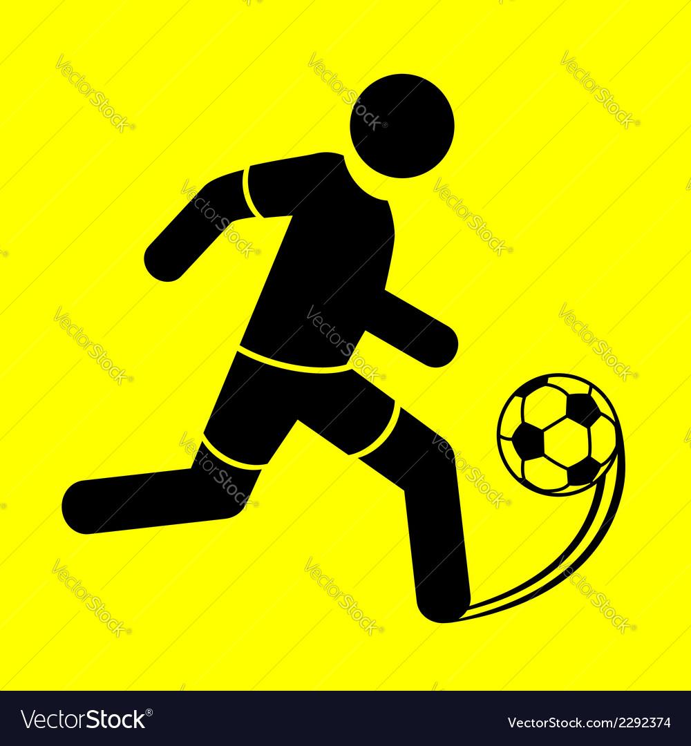 Symbol soccer vector | Price: 1 Credit (USD $1)