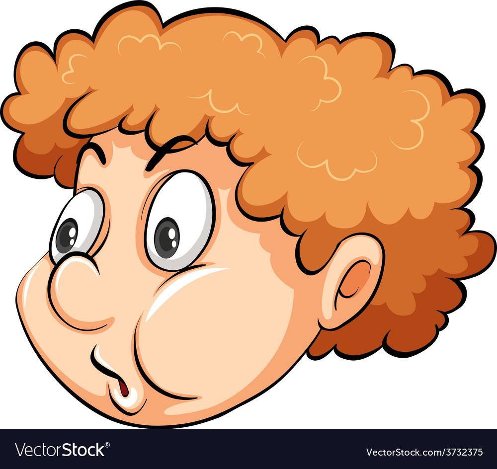 A head of a boy vector   Price: 1 Credit (USD $1)
