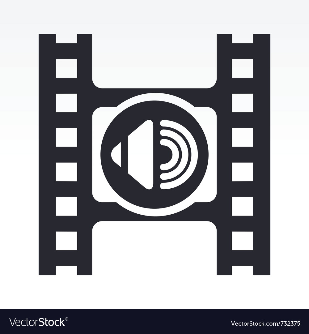 Video volume icon vector   Price: 1 Credit (USD $1)