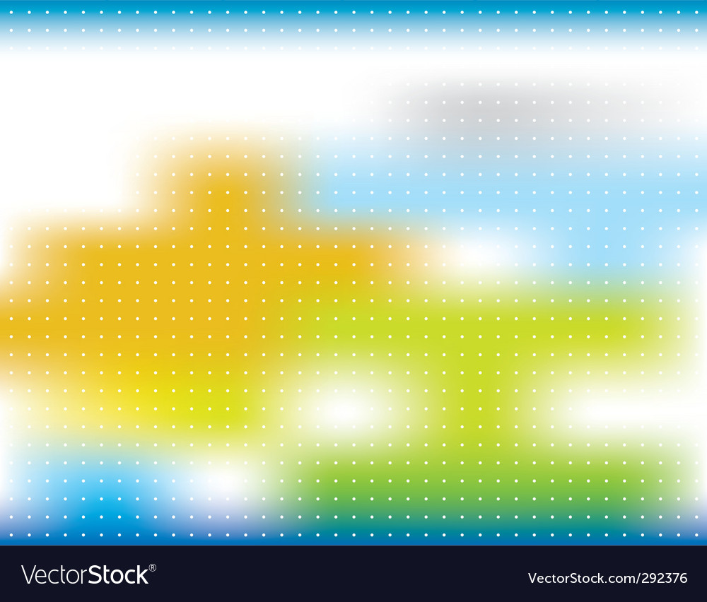 Abstract background blur with spots vector | Price: 1 Credit (USD $1)