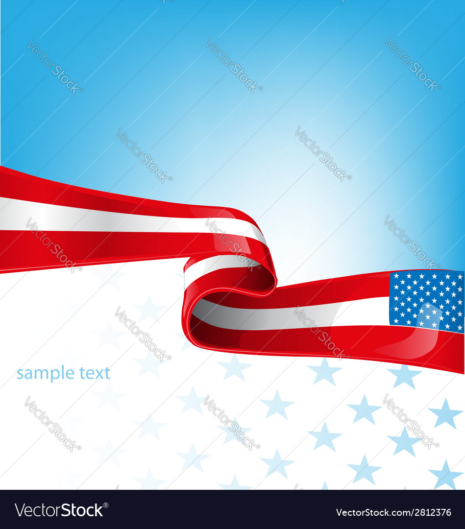 Usa flag background vector   Price: 1 Credit (USD $1)