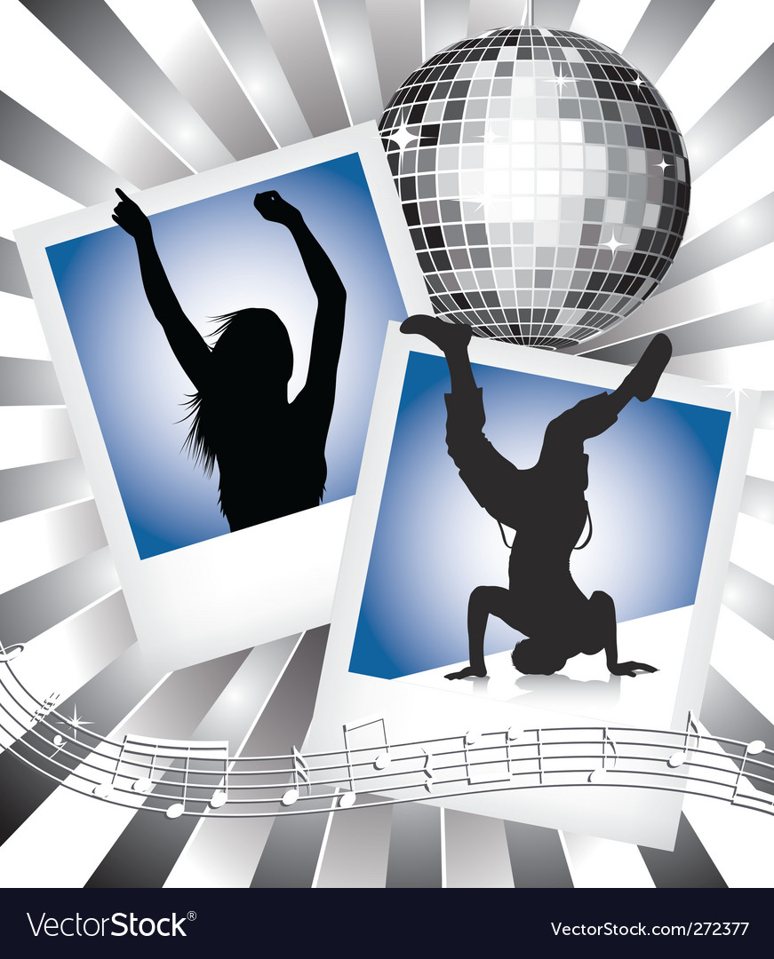 Music and dance vector | Price: 1 Credit (USD $1)