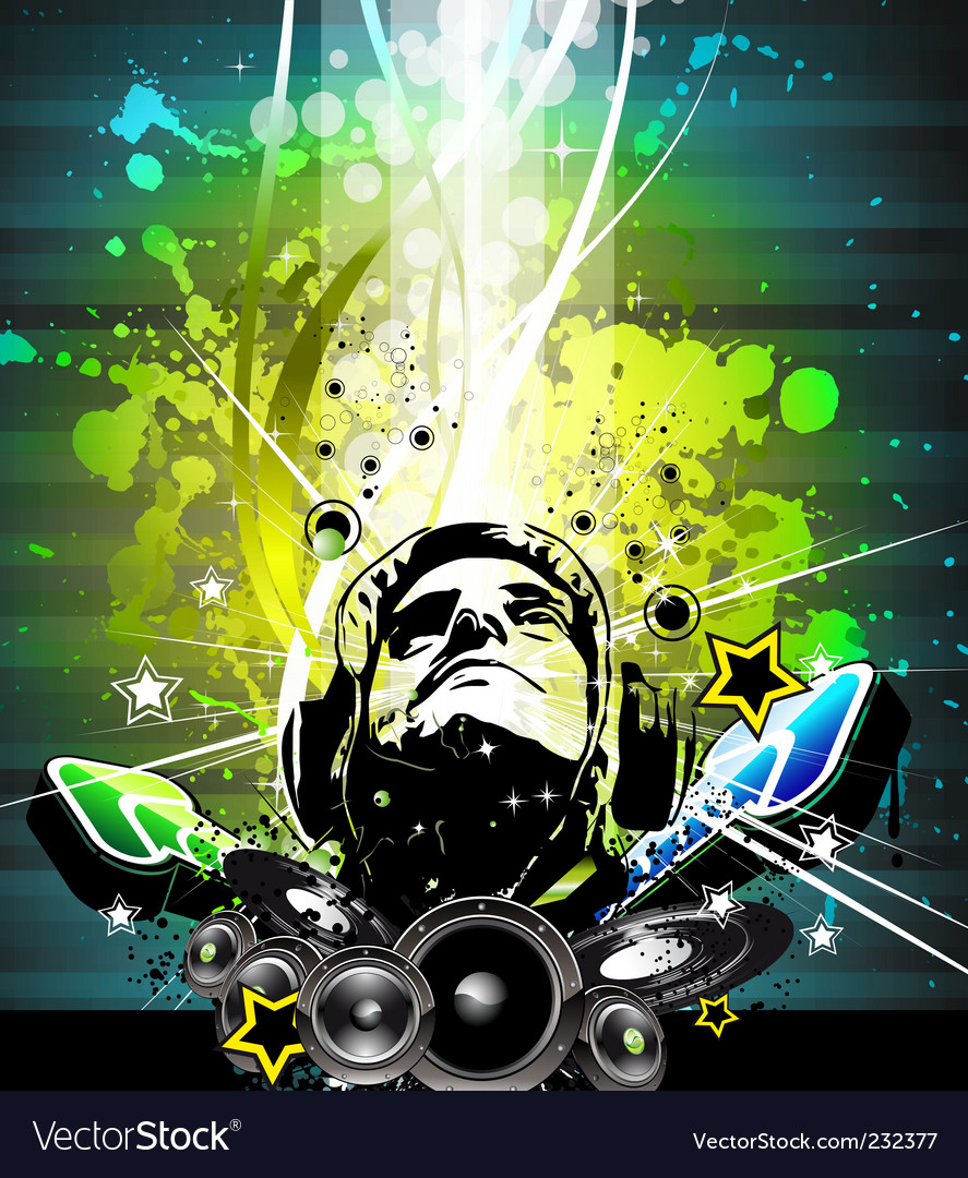 Music decay vector | Price: 1 Credit (USD $1)
