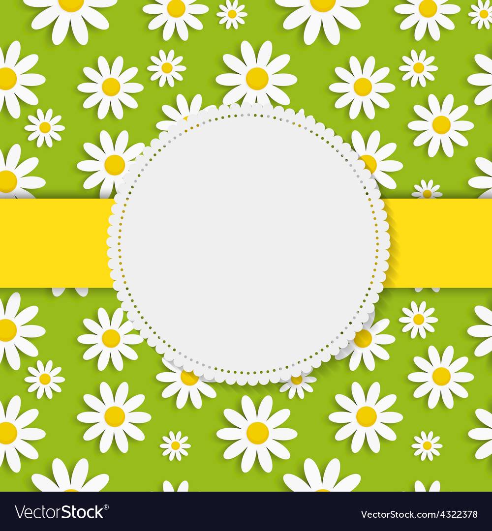 Flora daisyl design vector | Price: 1 Credit (USD $1)