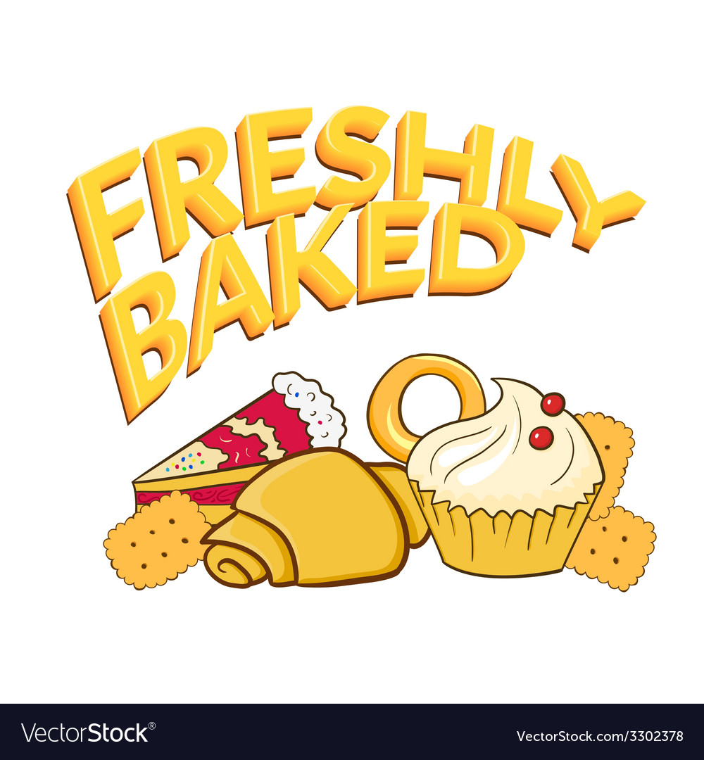 Fresh baked vector | Price: 1 Credit (USD $1)