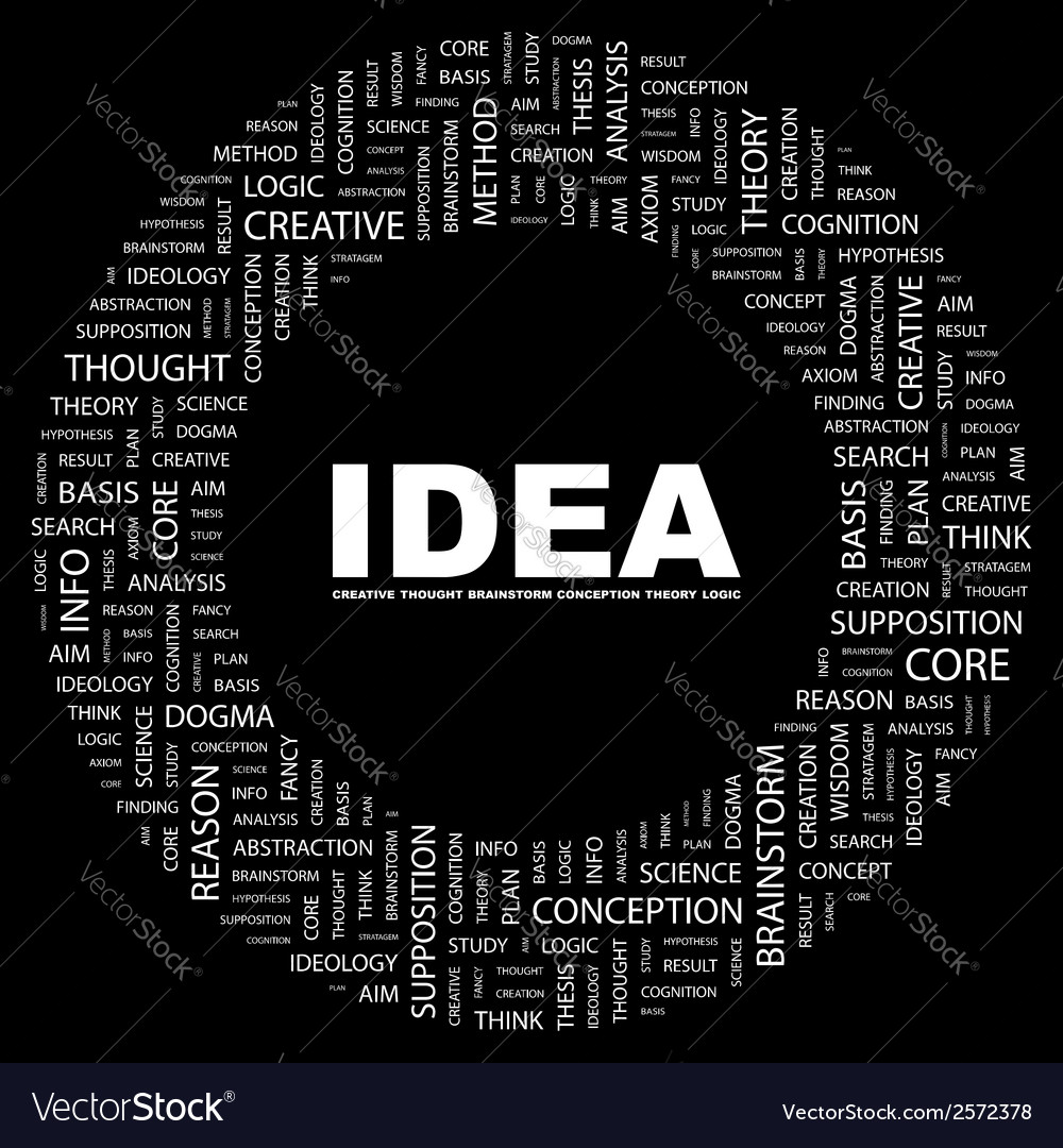 Idea vector | Price: 1 Credit (USD $1)