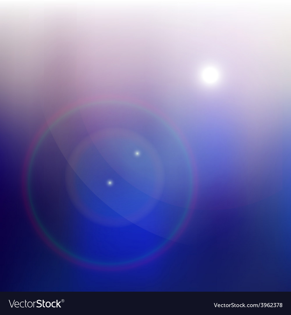 Lens flare vector | Price: 1 Credit (USD $1)