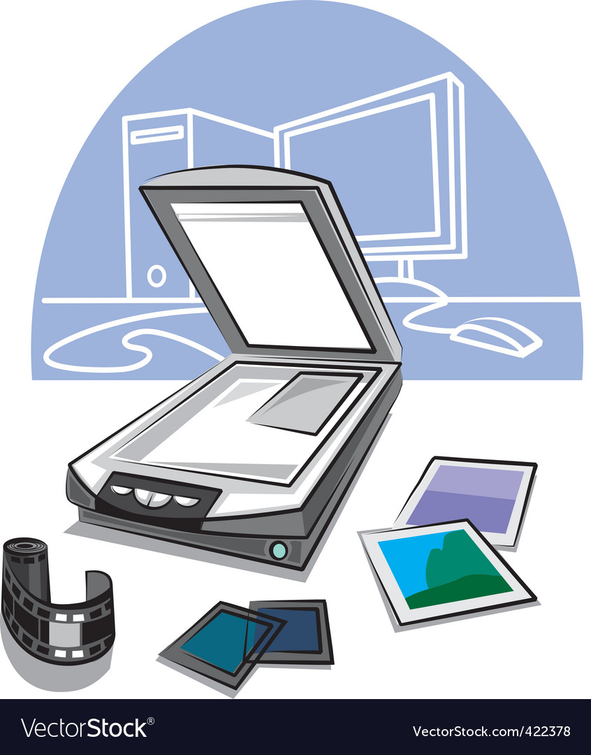 Scanner vector | Price: 1 Credit (USD $1)