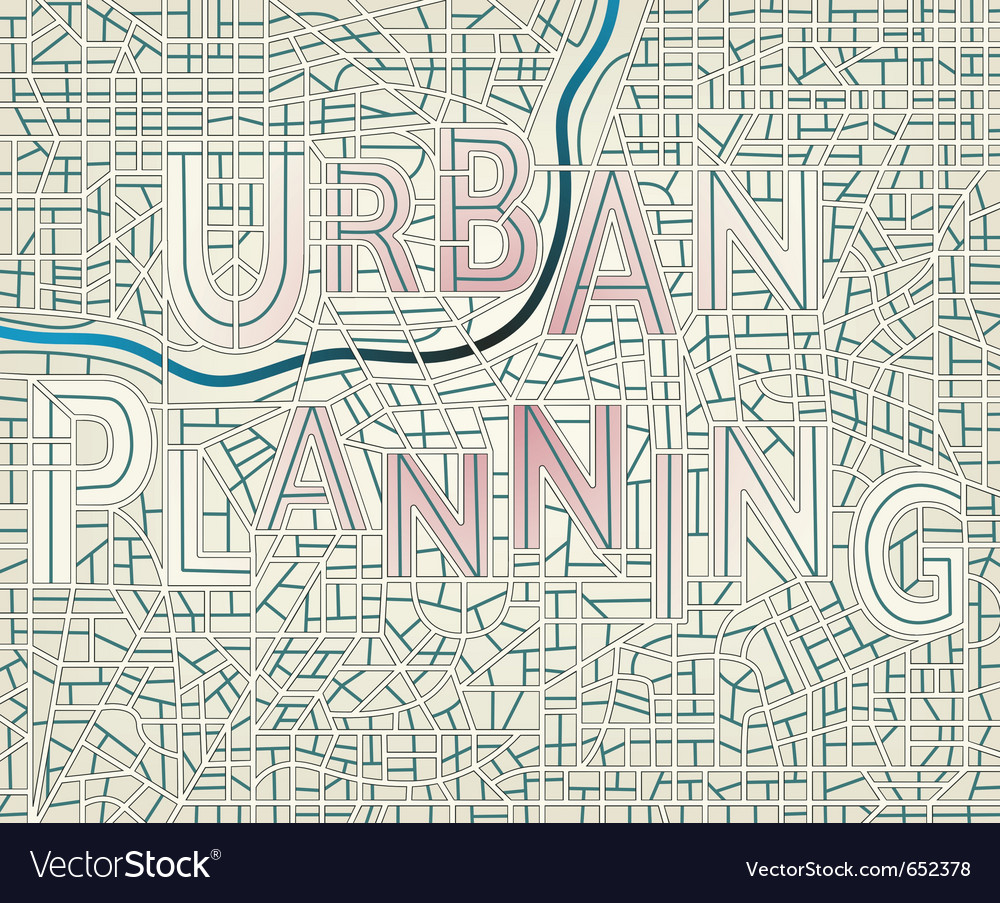 Urban planning vector | Price: 1 Credit (USD $1)