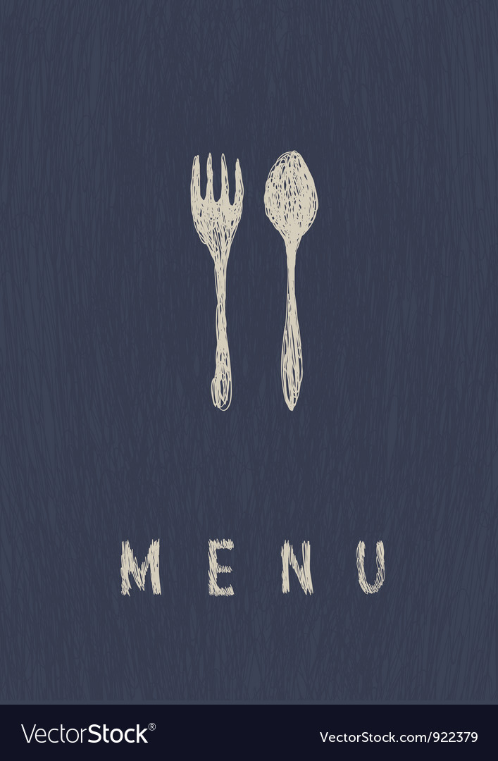 Menu a4 format template vector | Price: 1 Credit (USD $1)