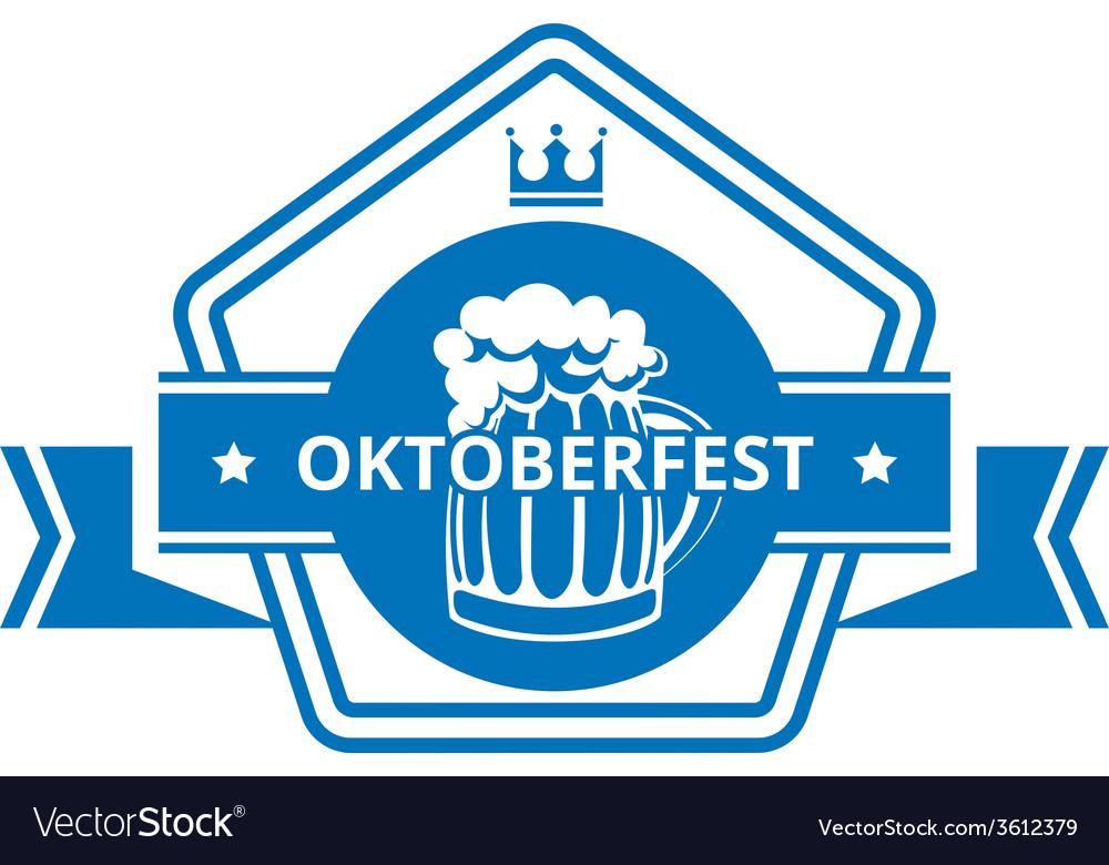 Oktoberfest label vector | Price: 1 Credit (USD $1)