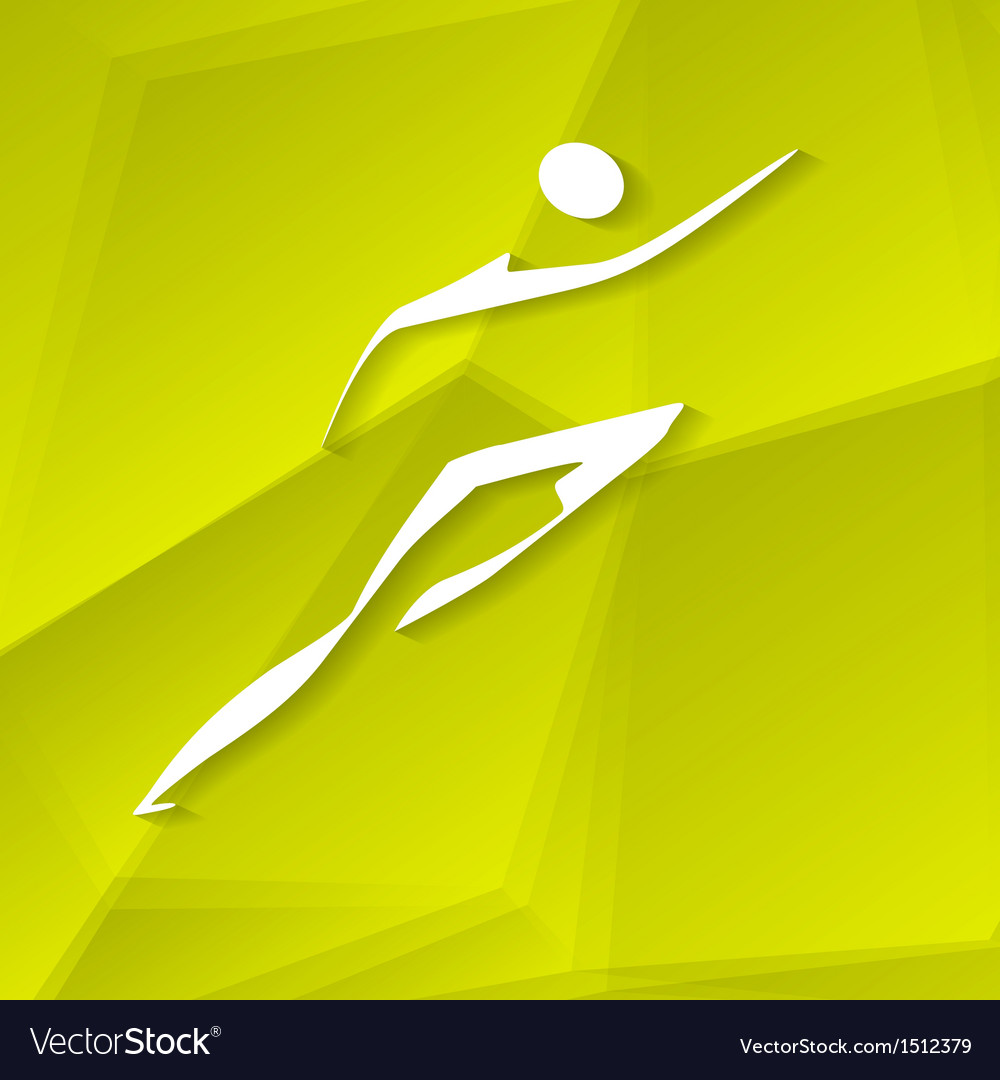 Runner icon vector | Price: 1 Credit (USD $1)