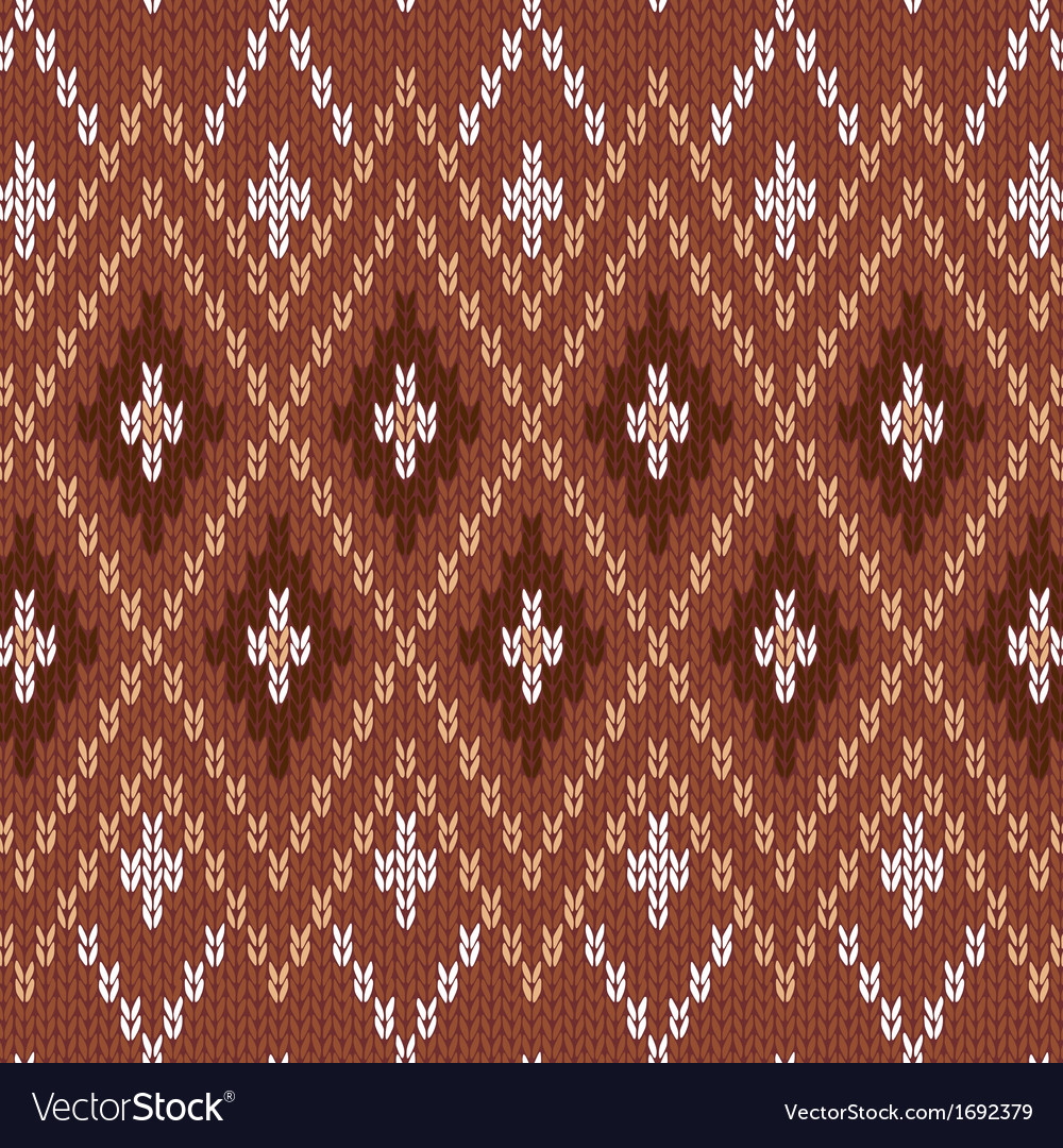 Seamless knitwear pattern vector | Price: 1 Credit (USD $1)