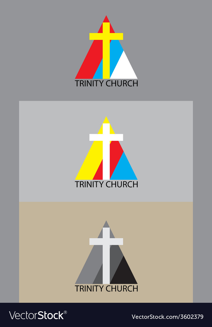 Triniti church logo vector | Price: 1 Credit (USD $1)