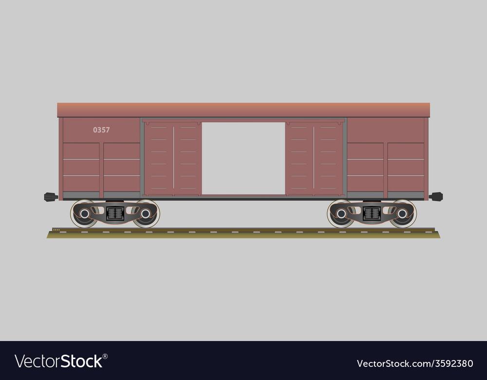 Boxcar vector | Price: 1 Credit (USD $1)