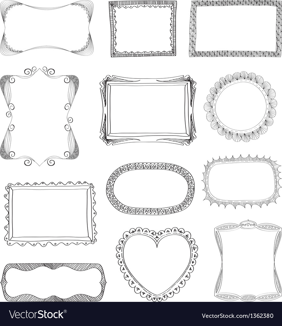 Frames coll vector | Price: 1 Credit (USD $1)