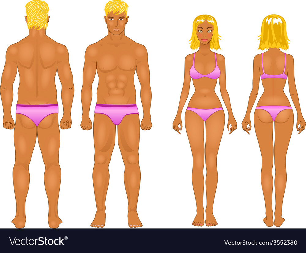 Male  female boy set  collection vector | Price: 1 Credit (USD $1)