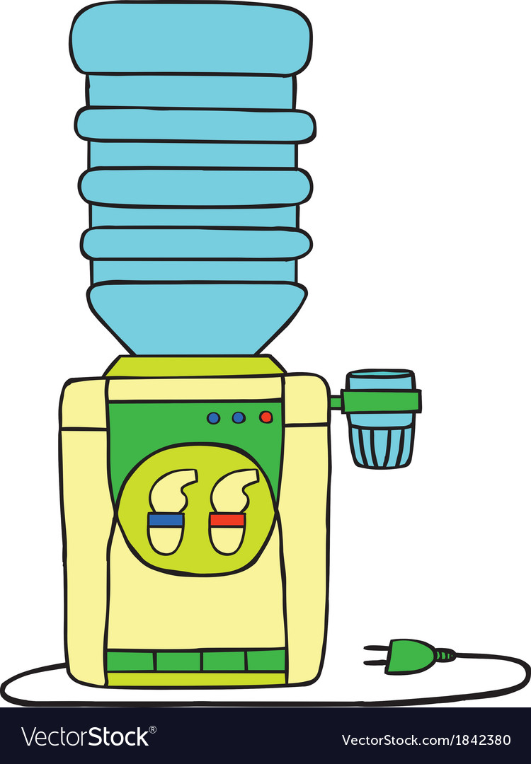 Water dispenser vector | Price: 1 Credit (USD $1)