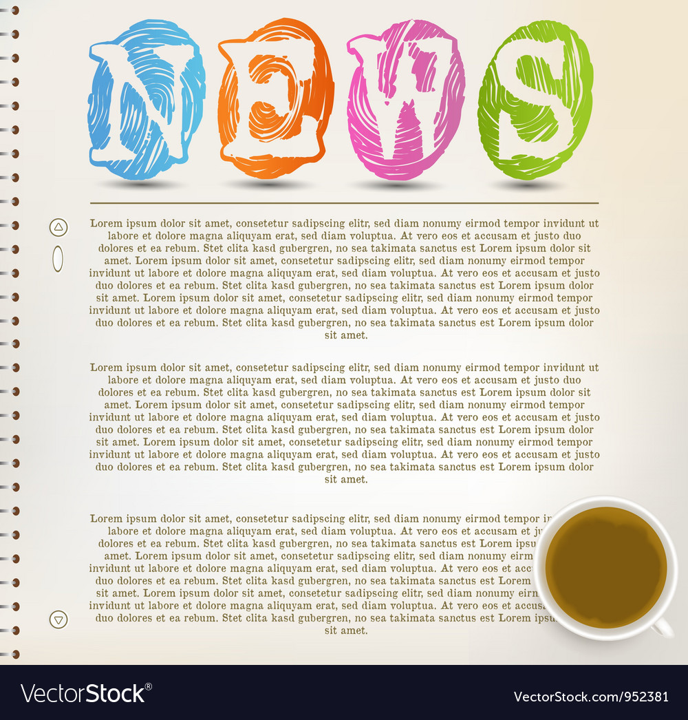 Education news vector | Price: 1 Credit (USD $1)