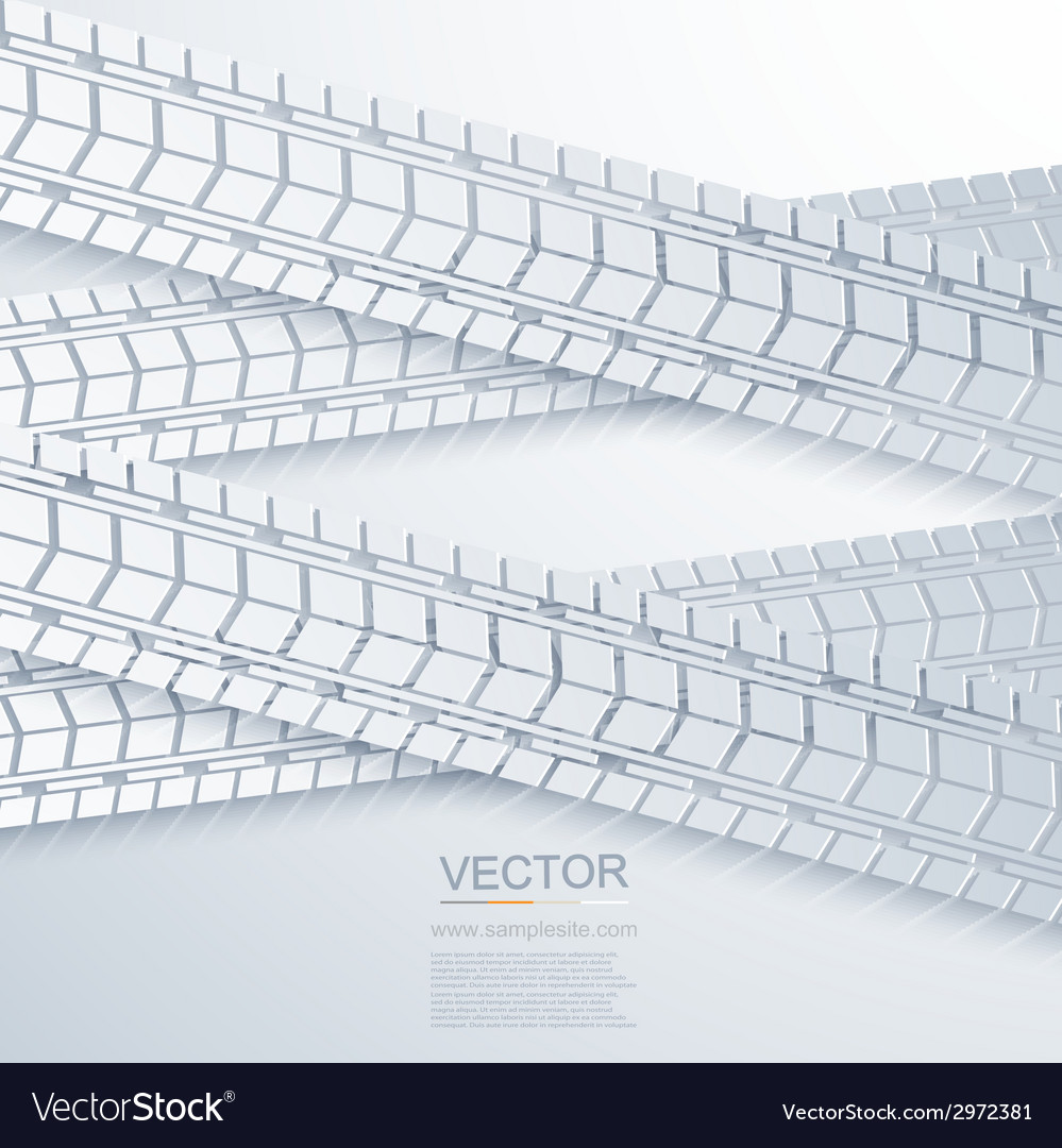 Modern trace of the tire background vector | Price: 1 Credit (USD $1)