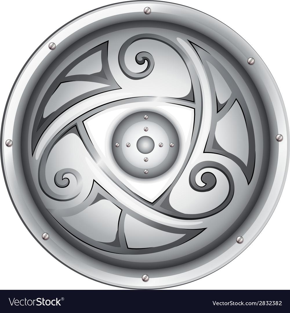 A vikings shield vector | Price: 1 Credit (USD $1)