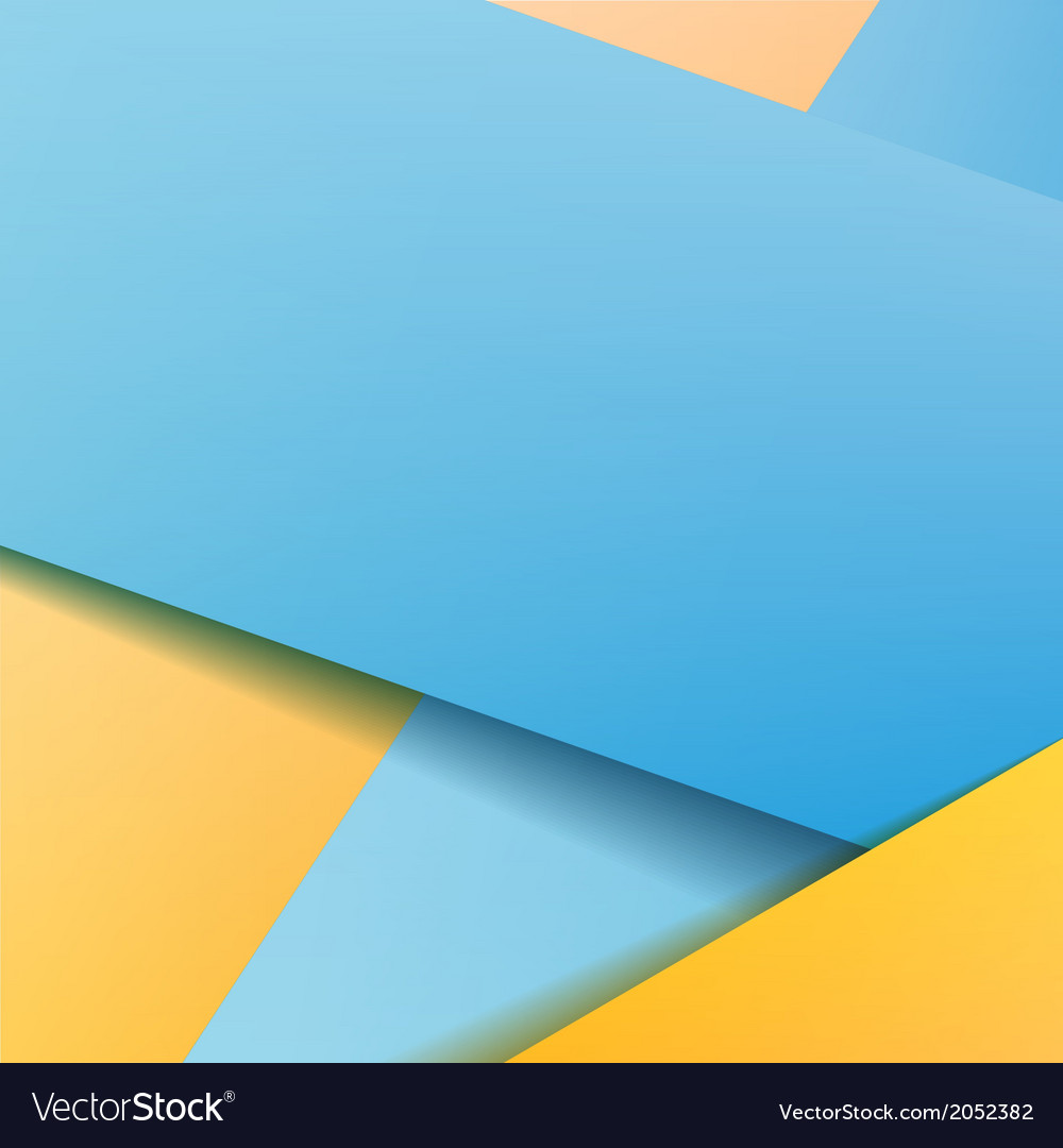 Background with blue paper vector | Price: 1 Credit (USD $1)